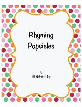 Rhyming Popsicles