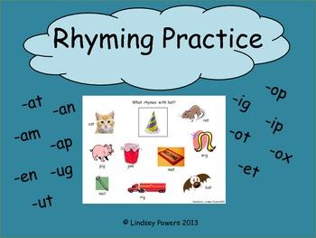 Rhyming Practice