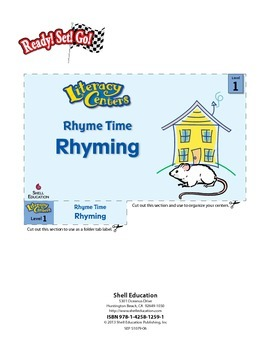 Rhyming--Rhyme Time Literacy Center