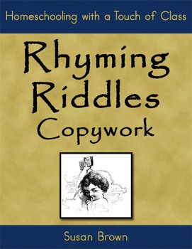 Rhyming Riddles Copywork