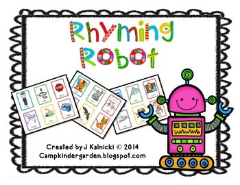 Rhyming Robot Card Game That Plays Like Crazy Eights