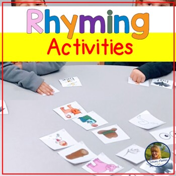 Rhyming Practice!  Common Core Game