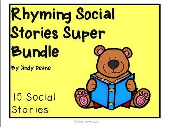 Rhyming Social Stories Super Bundle