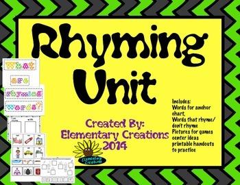 Rhyming Unit