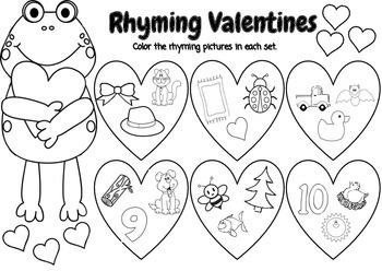 Rhyming Valentines