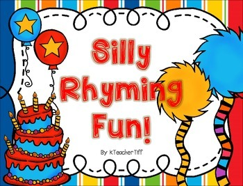 Rhyming Word Centers and Printables