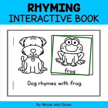 Interactive Rhyming Word Book