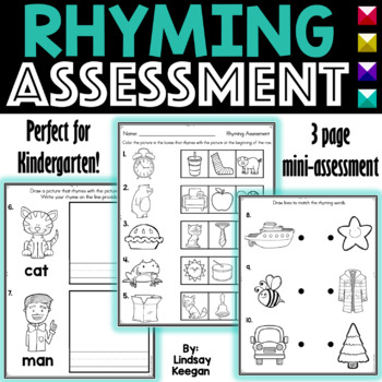 Rhyming Words Assessment