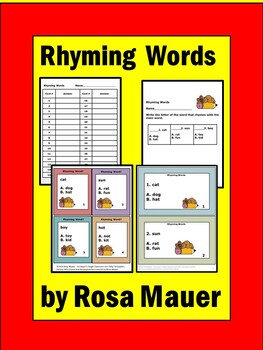 Rhyming Task Cards