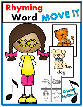 Rhyming Words JUST MOVE! (A Get Up and Move Around the Cla