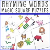 Rhyming Words Literacy Center Game