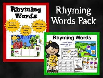 Rhyming Words Pack