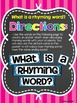 Rhyming Words Packet