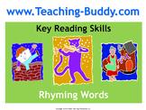 Rhyming Words (PowerPoint and worksheet)