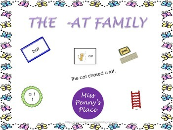 Rhyming Words - The -at Family
