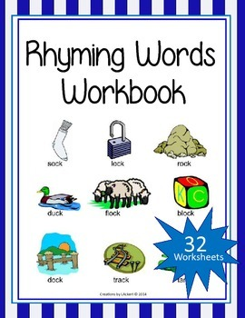 Rhyming Words Workbook