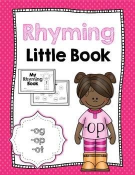 Rhyming Little Book {-og, -op, -ot}
