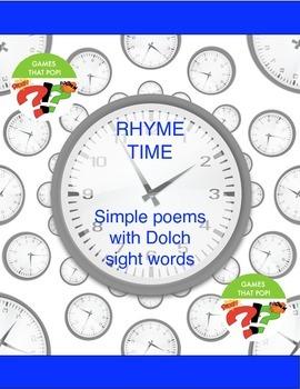 Sight Word Poem Worksheet - First 100 Words - NO PREP