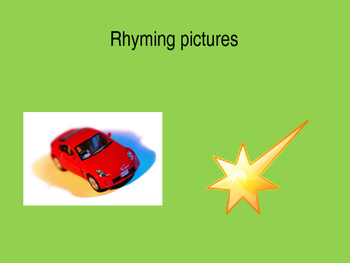 Rhyming picture