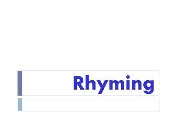 Rhyming powerpoint