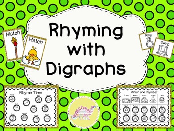 Rhyming with Digraphs