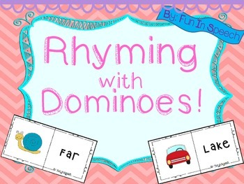 Rhyming with Dominoes