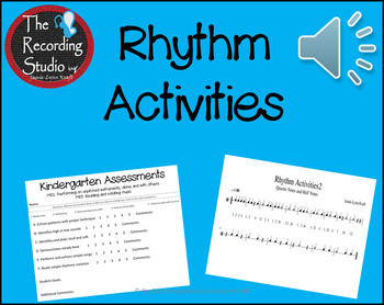 Rhythm Activities for the Classroom: FREEBIE