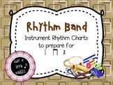 Rhythm Band--Instrument Rhythm Charts preparing for ta, ti