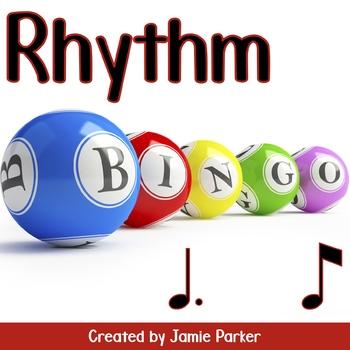 Rhythm Bingo: Tom Ti (Dotted Quarter Note/Eighth Note)