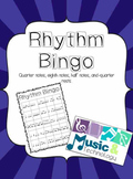 Rhythm Bingo for Substitute