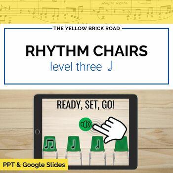 Rhythm Chairs Level Three: half note