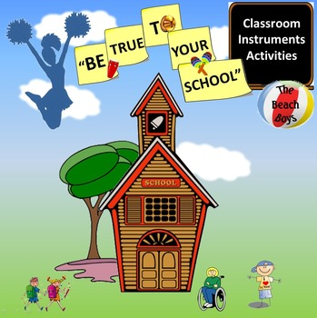 """Rhythm: Classroom Instruments: Play Along with """"Be True To"""