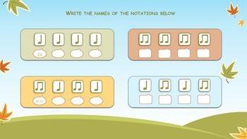 Rhythm Drills and Piano Keys Identification