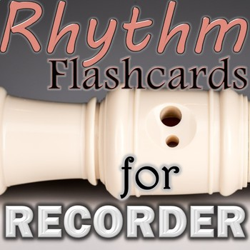 Rhythm Flashcards for Recorder - E/G line notes Smart Note