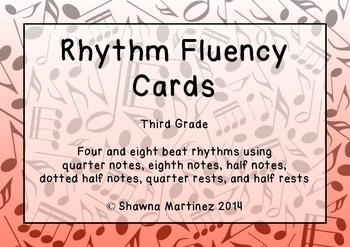Rhythm Fluency: Third Grade