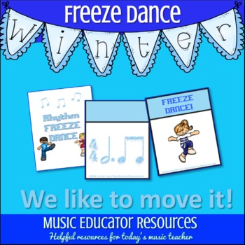 Rhythm Freeze Dance Card Game
