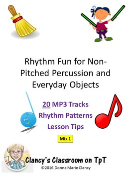 Rhythm Fun for Non-Pitched Percussion & Ordinary Objects M
