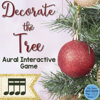 Rhythm Game: Decorate the Tree {Sixteenth Notes}