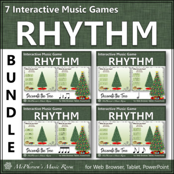 Rhythm Games: Decorate the Christmas Tree Interactive Musi