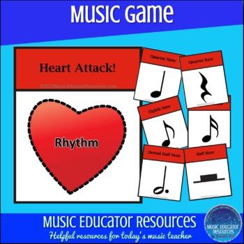 Rhythm Heart Attack Game
