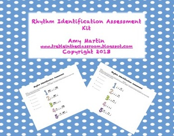 Rhythm Identification Assessment Pack