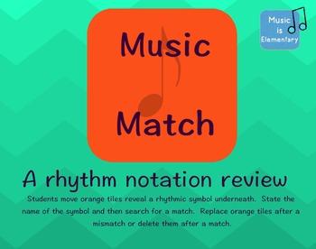 Rhythm Matching Game SMART Software