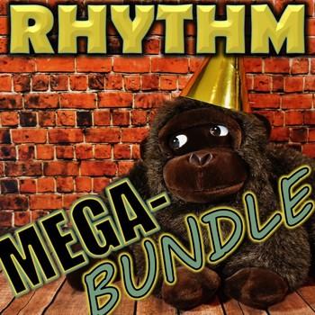 Rhythm Mega-Bundle - Elementary Music - 8 rhythm resources