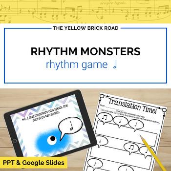 Rhythm Monsters: half note