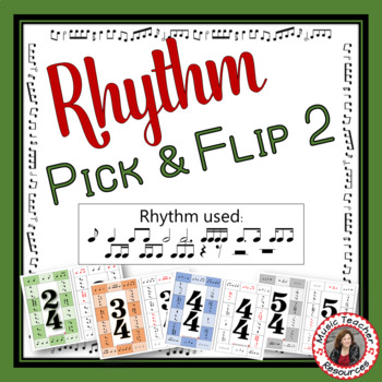 Rhythm Pick & Flip Music Puzzle 2
