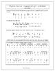 Rhythm Practice Worksheets - Quarter & Eighth Notes & Rest