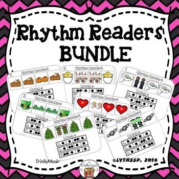 Rhythm Readers (Holidays BUNDLE)