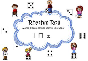 Rhythm Roll, a small group activity to practise ta rest