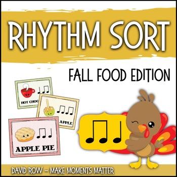 Rhythm Sort - Fall Food Festival Edition for Rhythm Center