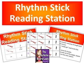 Rhythm Stick Reading Station